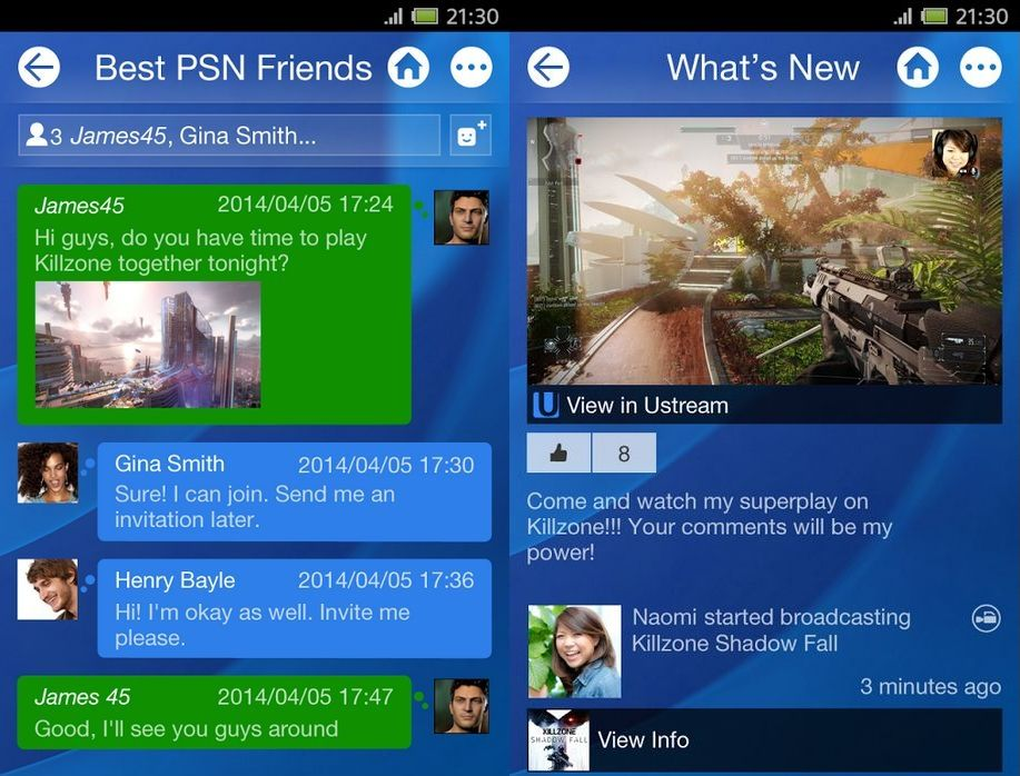 0cb1a4fd3a582f Official PlayStation app now available on Android and iOS devices ahead of  PS4 launch