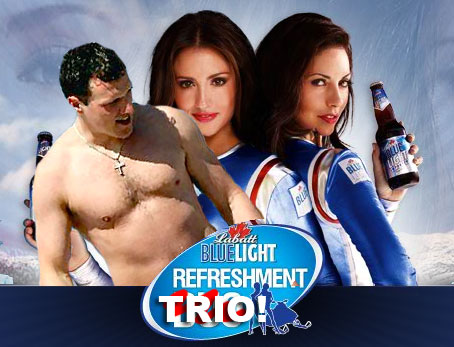 We have modified the Blue Light Refreshment Duo into a Trio because we have a ton of female users who I don't want to have punch me in the face. You're welcome.