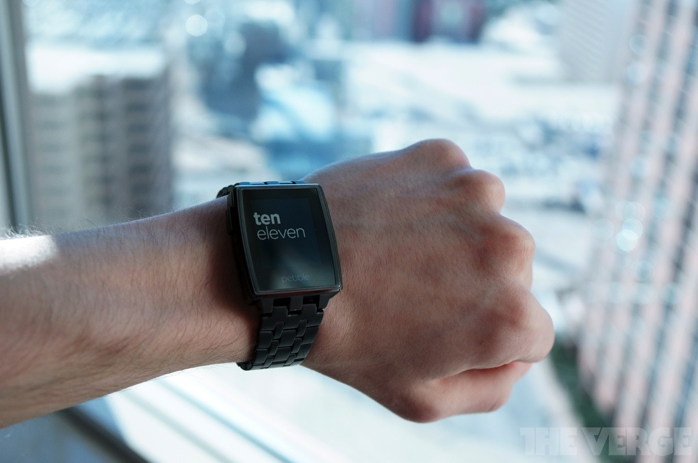Gallery Photo: Pebble Steel hands-on pictures
