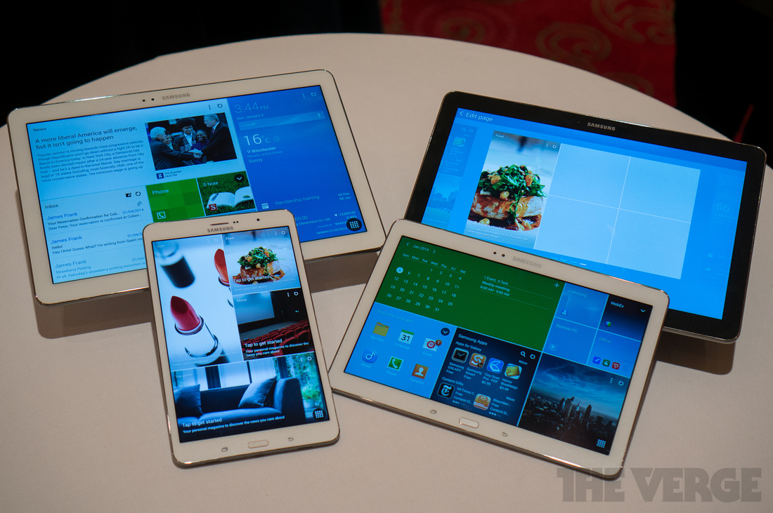 Gallery Photo: Samsung Galaxy TabPro and Galaxy NotePro pictures