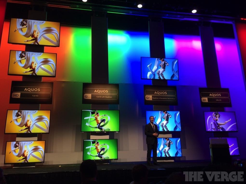 Sharp CES 2014 HDTVs