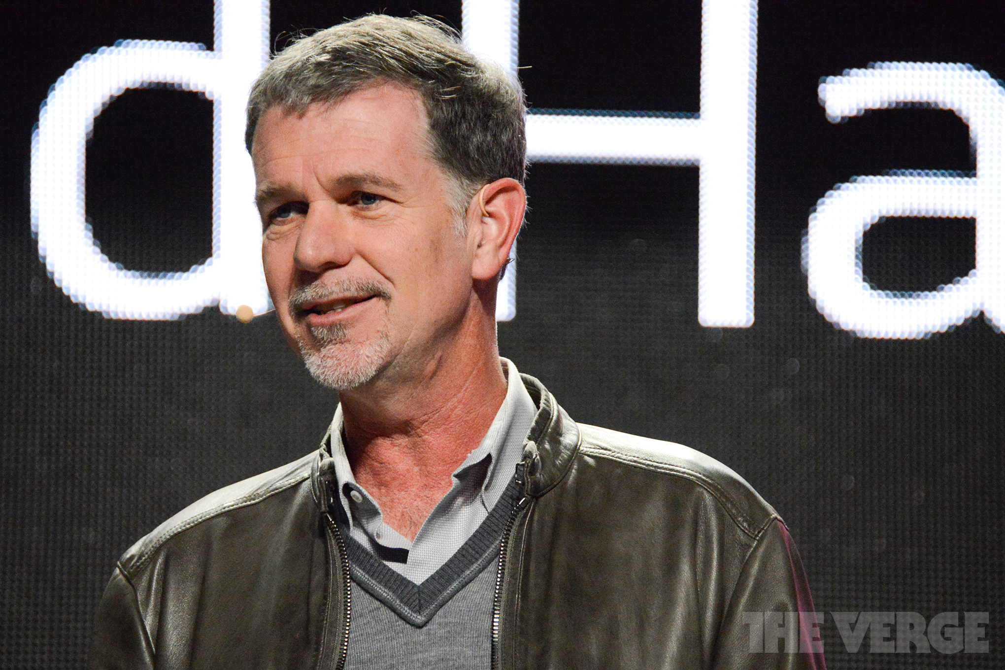 Netflix Reed Hastings Stock Photos From Ces 2014