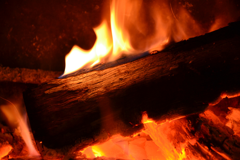 Fireplace (Flickr)