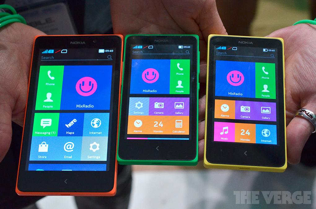 Nokia X stock