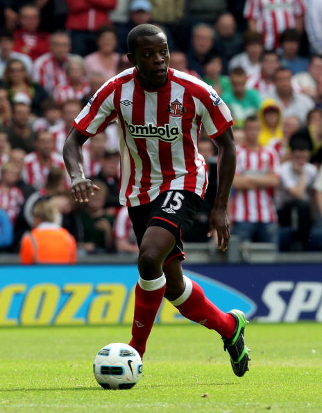 Nedum Onuoha is on loan with Sunderland from Manchester City, but won't play today.