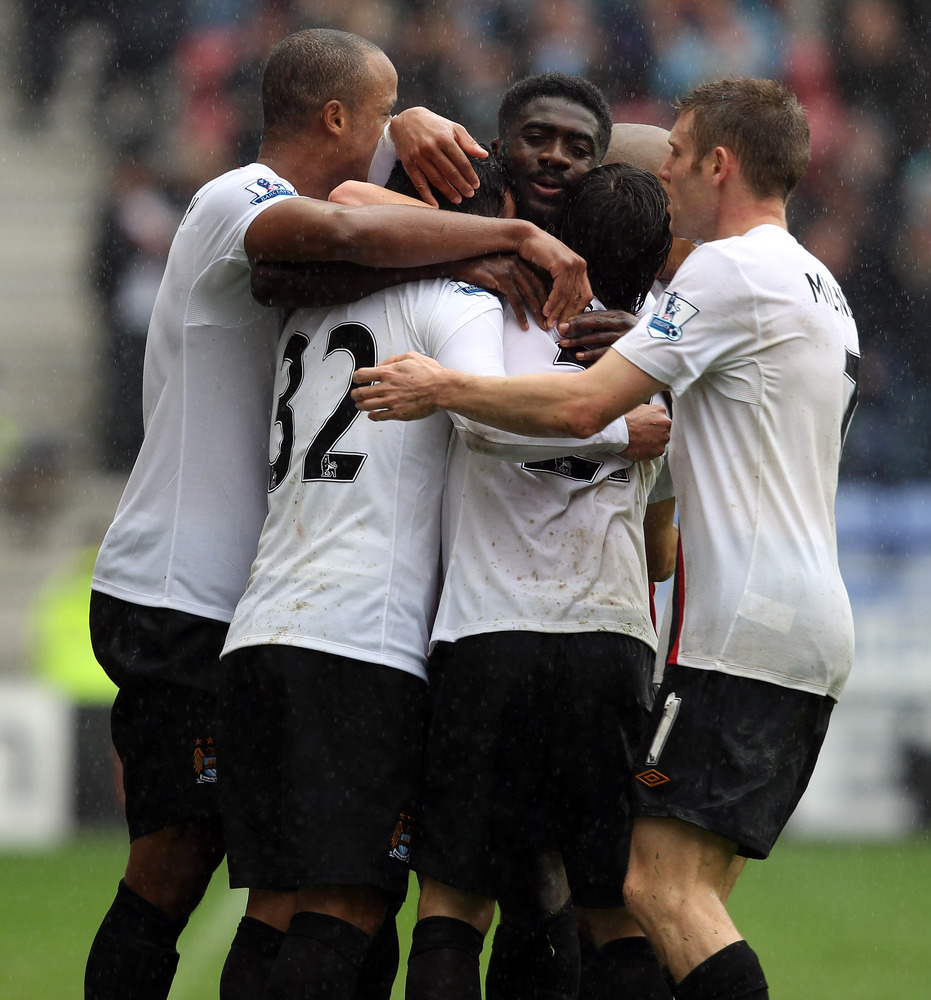 Wigan celebration
