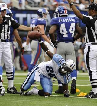 The Fumble, Thanks to big play from Michael Griffin