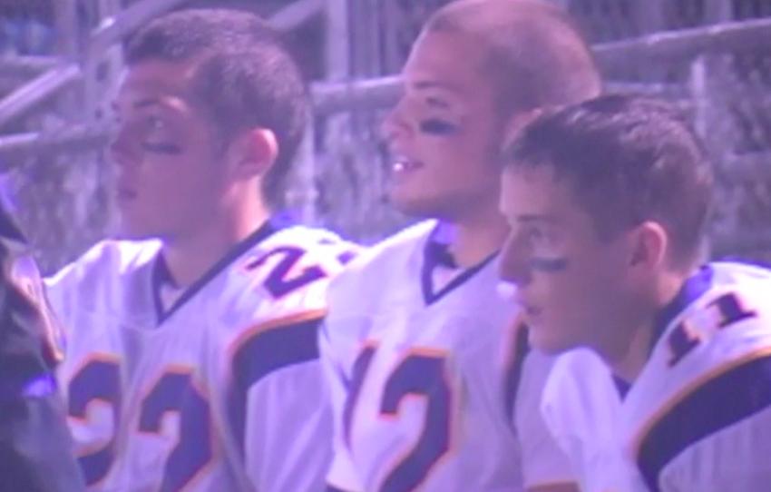 Lake Braddock quarterback Michael Nebrich.