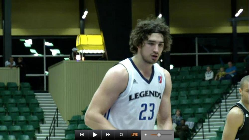 Joe Alexander played better than he looked last night in the D-League.
