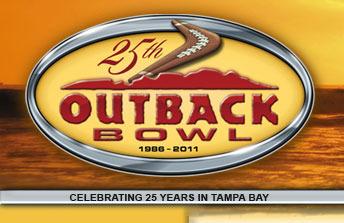 2011 Outback Bowl logo