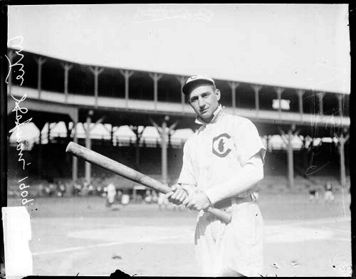 """Art """"Solly"""" Hofman of the Cubs, at West Side Grounds in 1909. <em>Credit: SDN-054737, Chicago Daily News negatives collection, Chicago History Museum. </em>"""