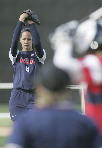 Cat Osterman was probably the most dominant athlete ever to play a sport at the University of Texas.