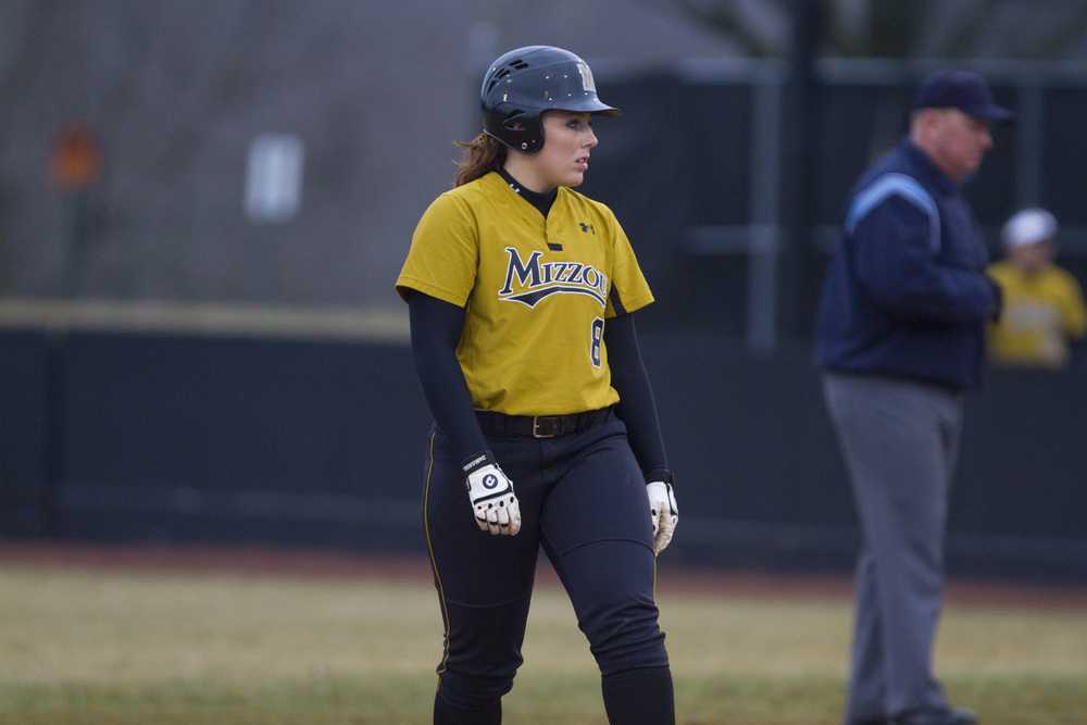 """Nicole Hudson and the Tigers have already retired the Redbirds three different times.  Can they make it a fourth on Friday evening?  (Photo via <a href=""""http://www.mutigers.com"""" target=""""new"""">MUtigers.com</a>)"""