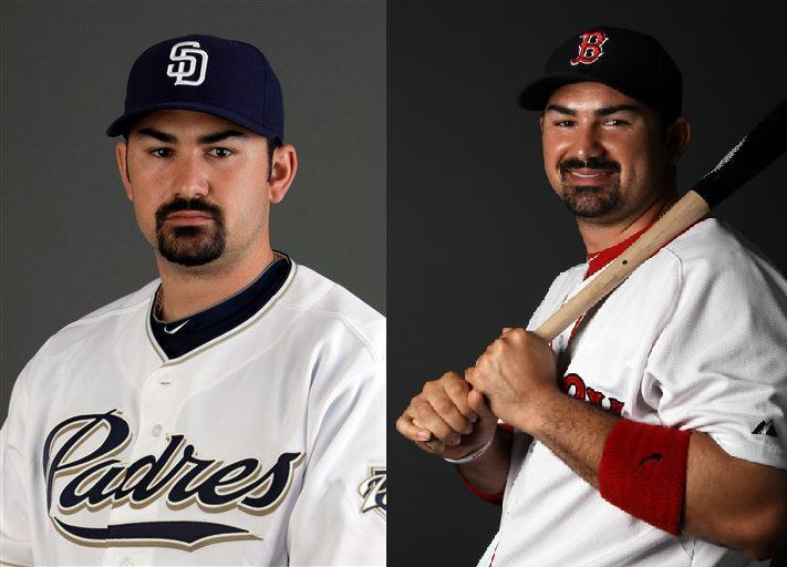 Two Faced Adrian Gonzalez