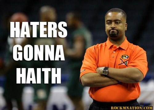 Haters Gonna Haith