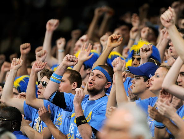 A massive and history win for UCLA students. (Photo by Kevork Djansezian/Getty Images)