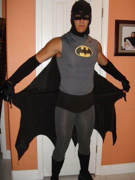 You're not the <em>real</em> Batman. The real Batman has sleeves.