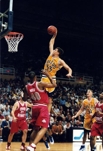 It doesn't get any purer than Greg Stempin's dunk against Ohio State in 1999.