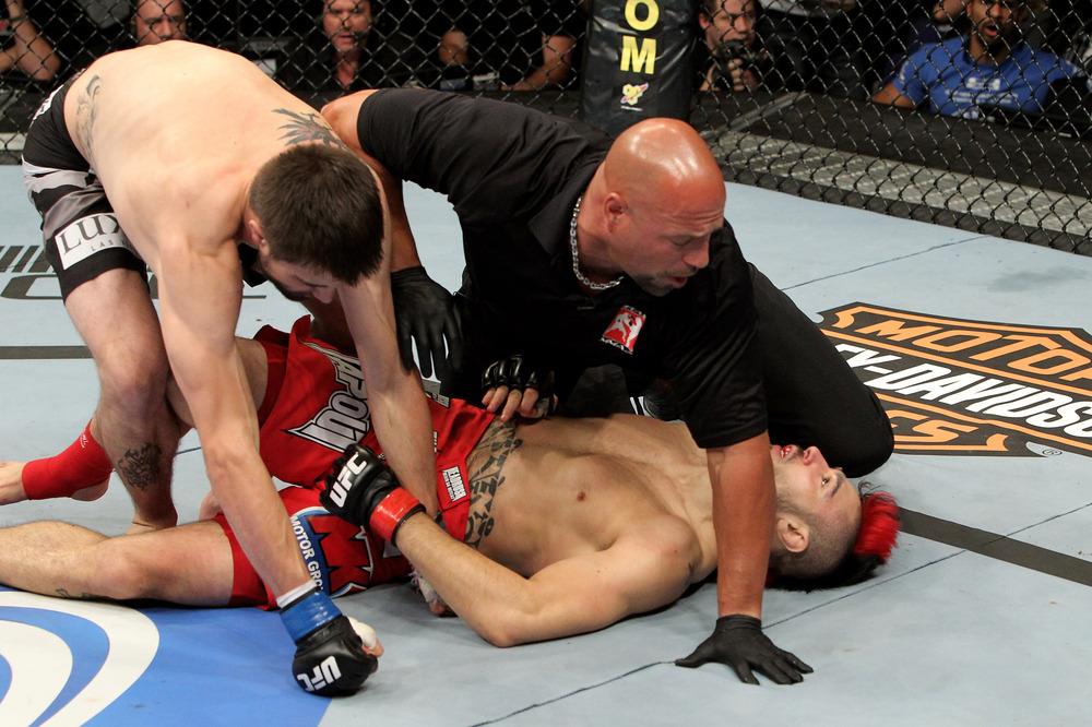 Dan Hardy UFC 120