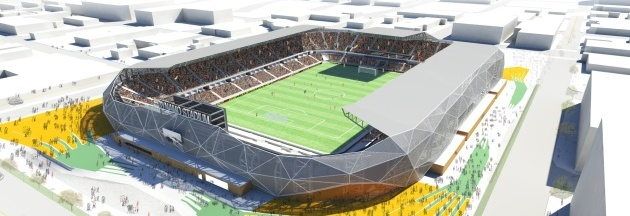 Houston Dynamo Stadium Rendering