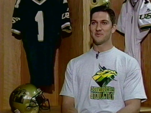 USF's first first quarterback. No, it's not Chad Barnhardt.