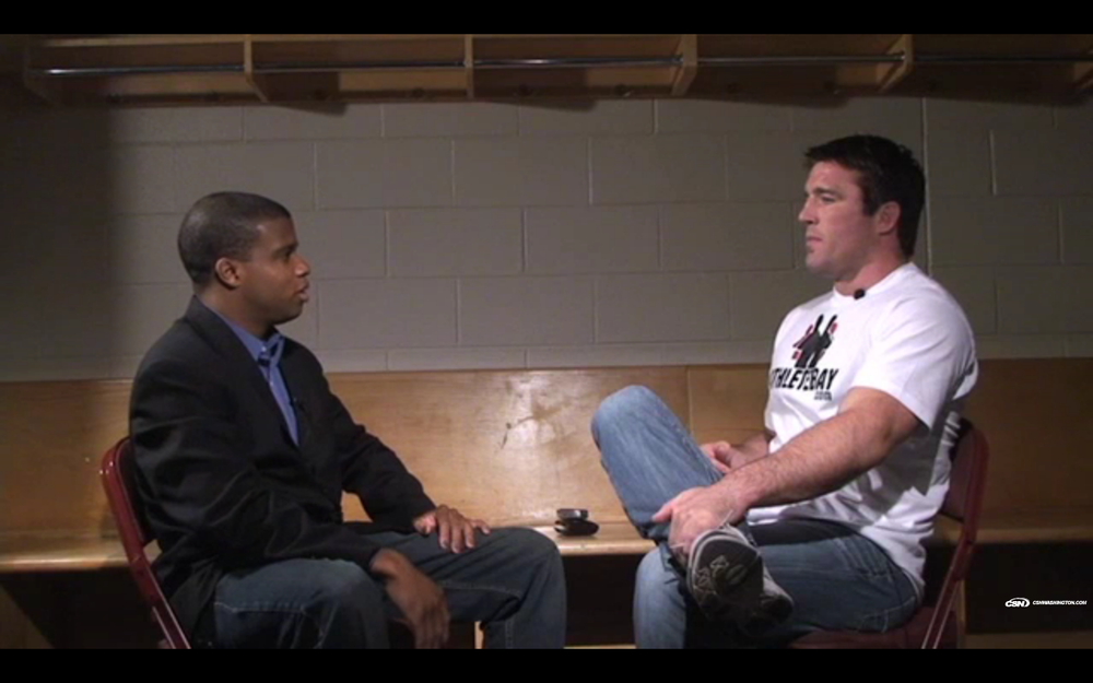 Dustin Green talks to Chael Sonnen