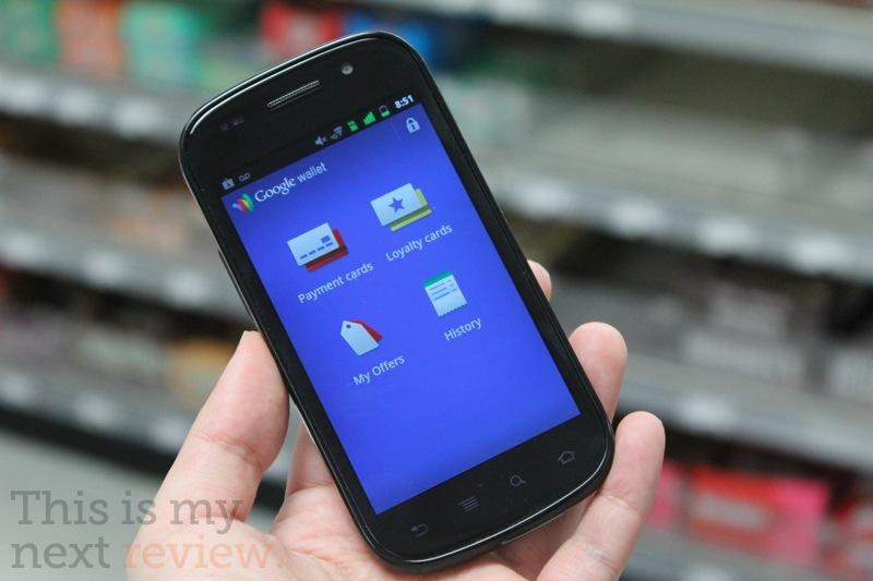 Google Wallet NFC
