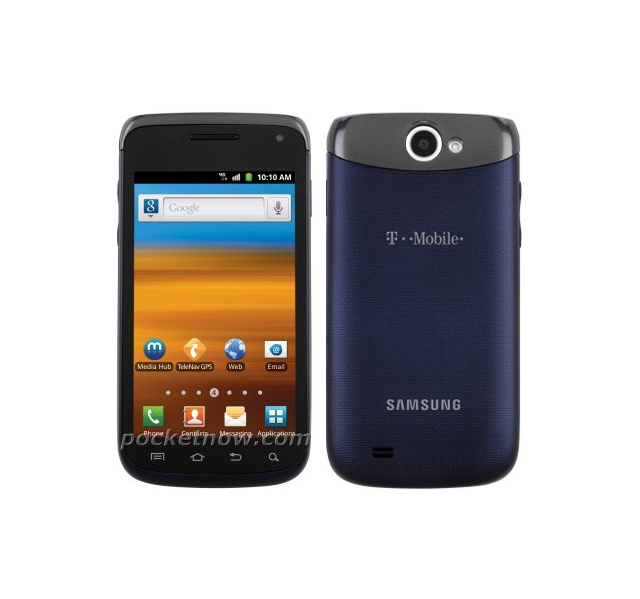 Samsung Galaxy W / Exhibit II 4G Press Shot