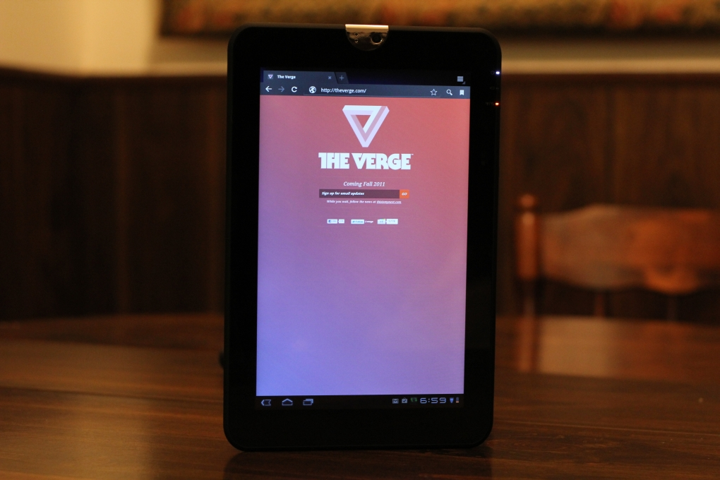 Toshiba Thrive main review