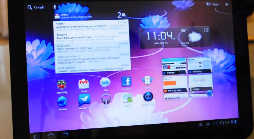Android Honeycomb 3.1 on Motorola Xoom review
