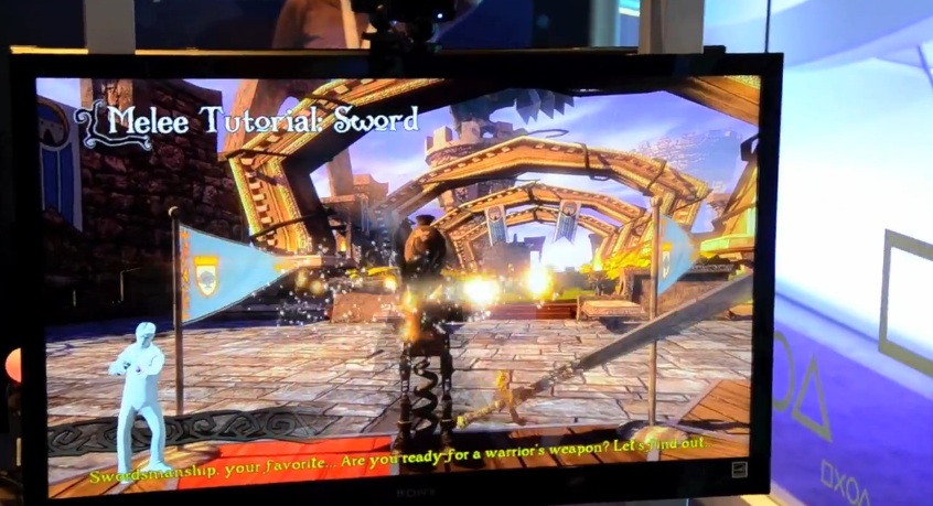 Medieval Moves for PlayStation Move E3 2011 hands-on