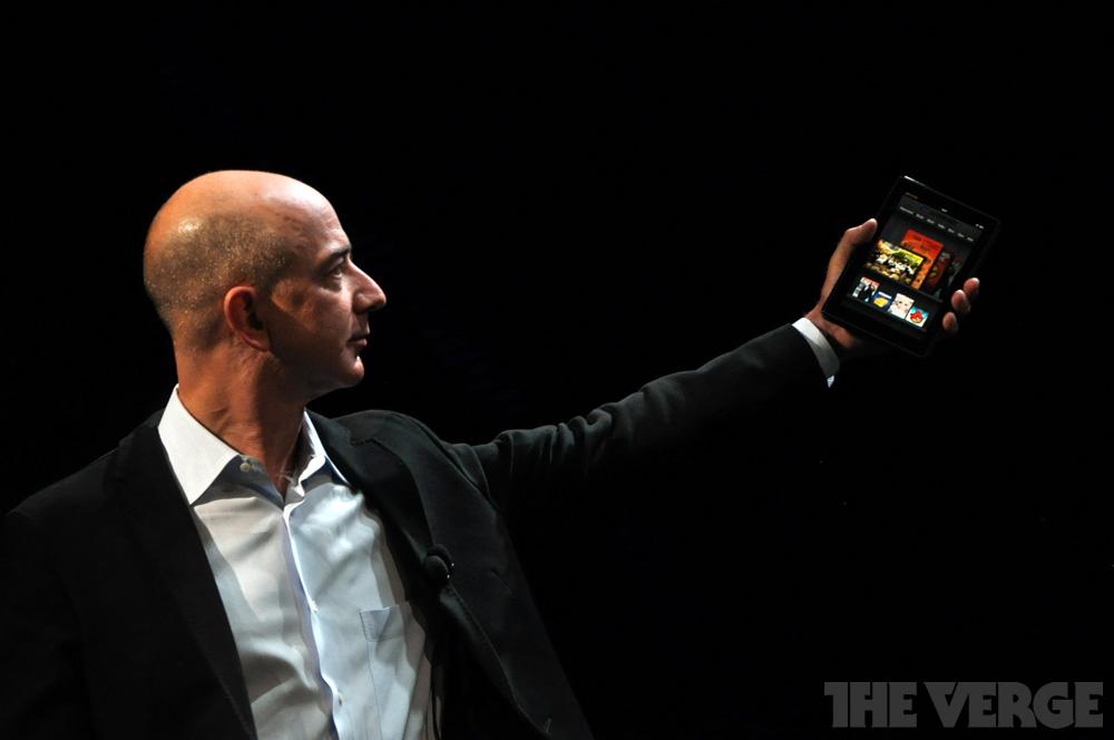 Bezos Kindle Fire