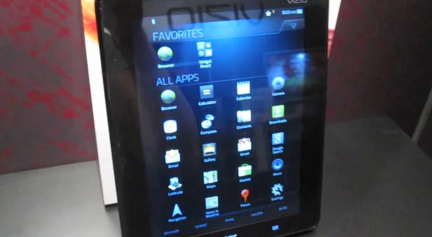Vizio Tablet hands-on