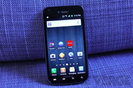 Samsung Galaxy S II (T-Mobile) (Display)