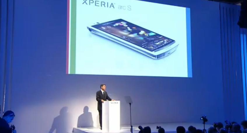 Sony Ericsson Xperia Arc S unveil at IFA 2011