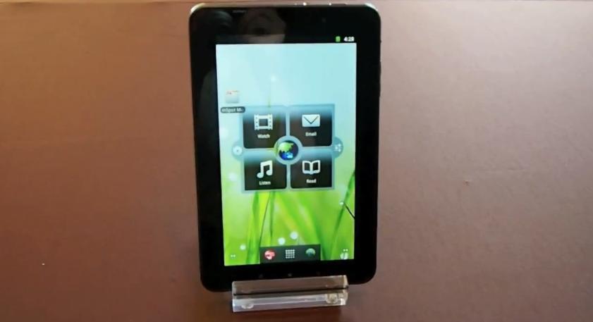 Lenovo IdeaPad A1 tablet hands-on