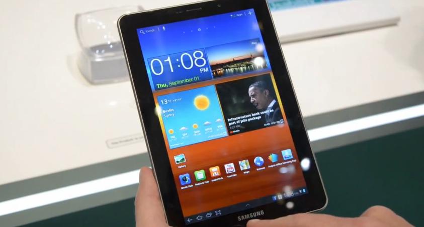 Samsung Galaxy Tab 7.7 hands-on