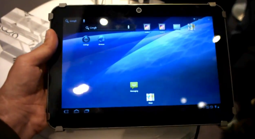 Toshiba AT200 hands-on