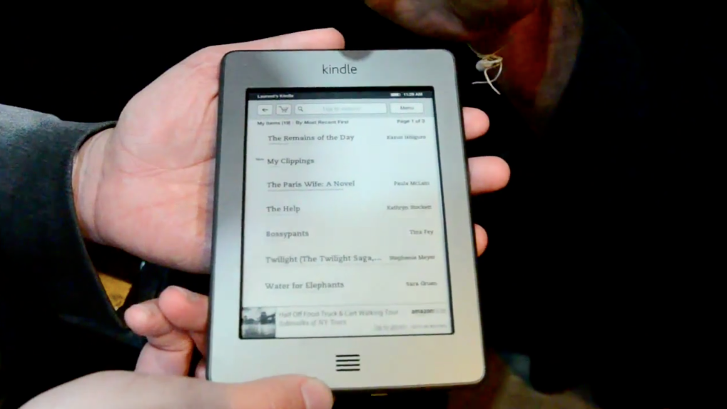 Kindle Touch 3G | Amazon - The Verge