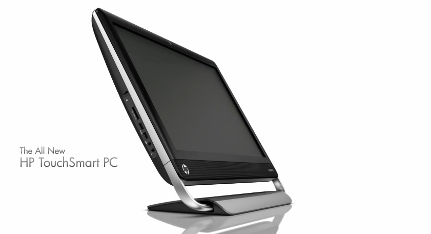 HP TouchSmart design video