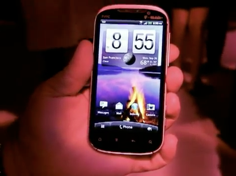 HTC Amaze 4G for T-Mobile hands-on preview