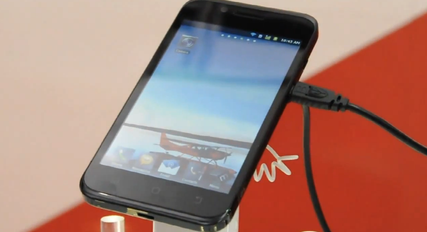 KT Spider Phone with laptop and tablet docks at IFA 2011