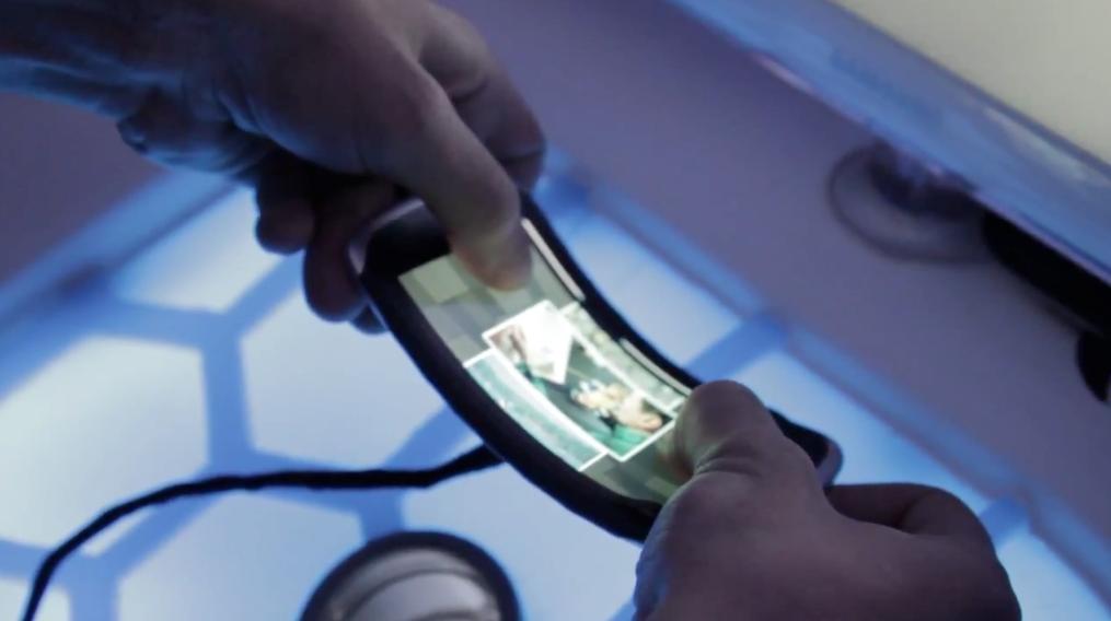 Nokia Kinetic device demo