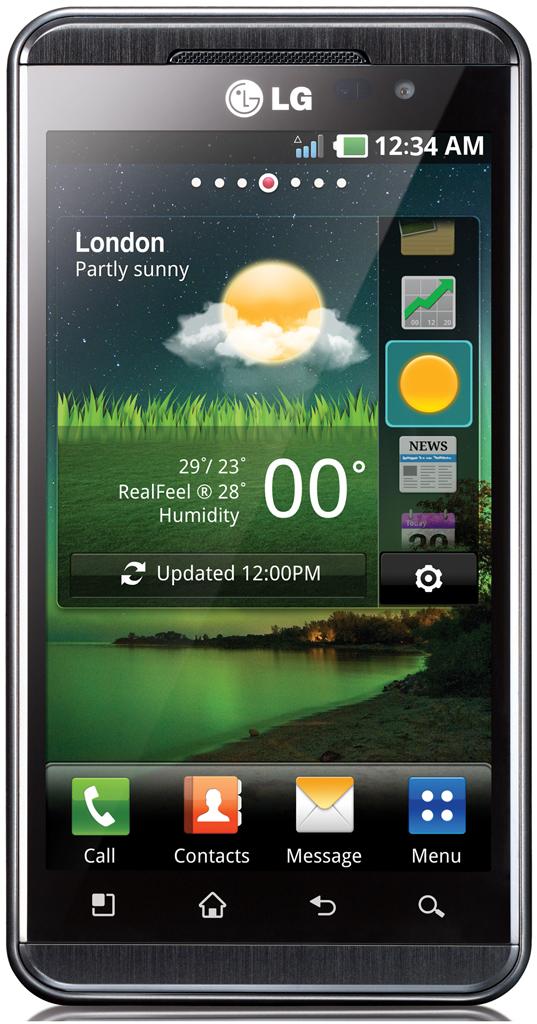 LG Optimus 3D Stock