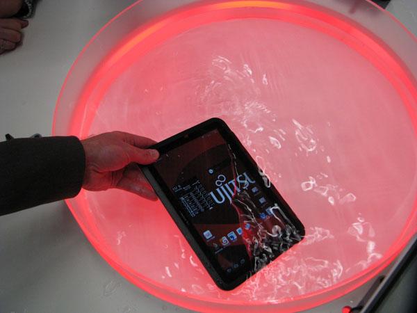 Fujitsu arrows tab water