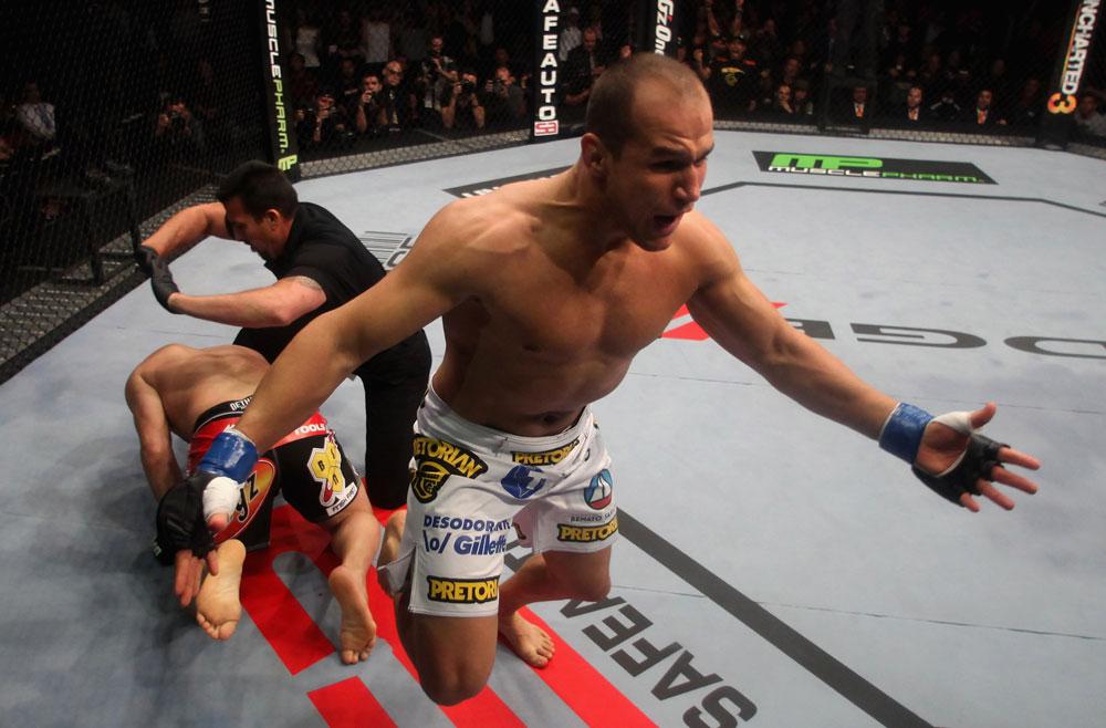 UFC® on FOX Velasquez vs Dos Santos on Saturday, November 12, 2011 at the Honda Center in Anaheim, CA (Photos by Donald Miralle/Zuffa LLC/Zuffa LLC vs Getty Images)