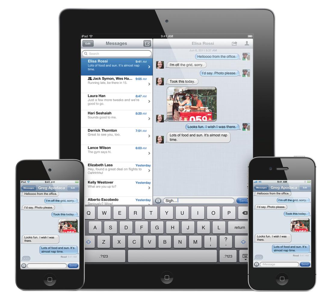 iOS iMessage