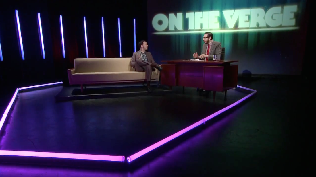 On The Verge 001 clip: Android design versus Windows Phone and iOS