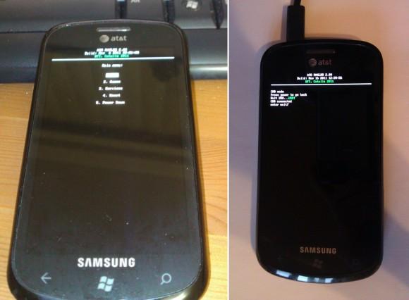 MAGDLR on Samsung Focus