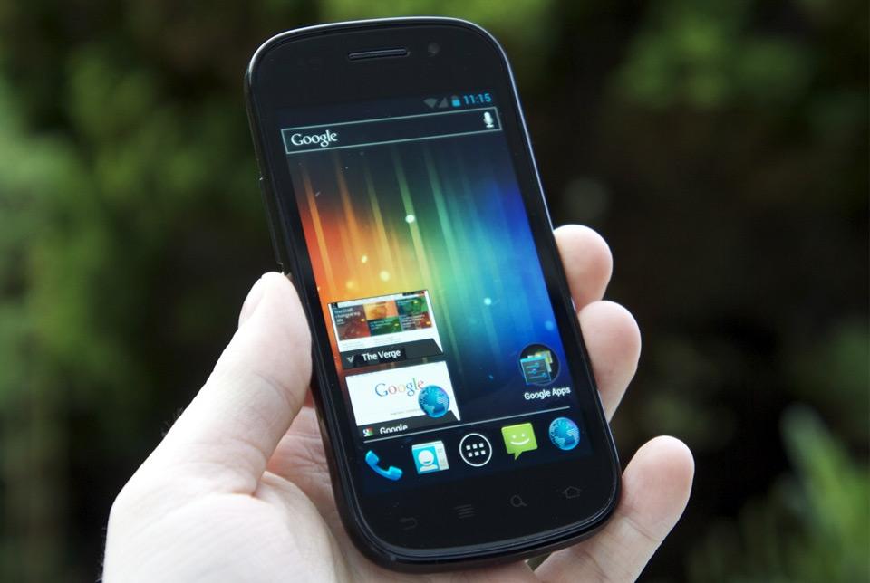 nexus s samsung the verge rh theverge com Nexus 9 Nexus 7